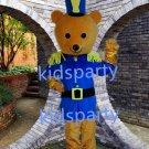 New bear mascot costume Fancy Dress Halloween party costume Carnival Costume
