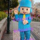New blue boy mascot costume Fancy Dress Halloween party costume Carnival Costume