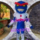 New super hero mascot costume Fancy Dress Halloween party costume Carnival Costume