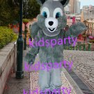 new grey squirrel with big tail fursuit mascot costumes christmas Halloween costume