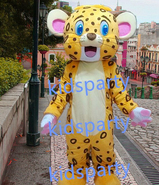 new Spotted tiger mascot costumes  fursuit christmas Halloween costume