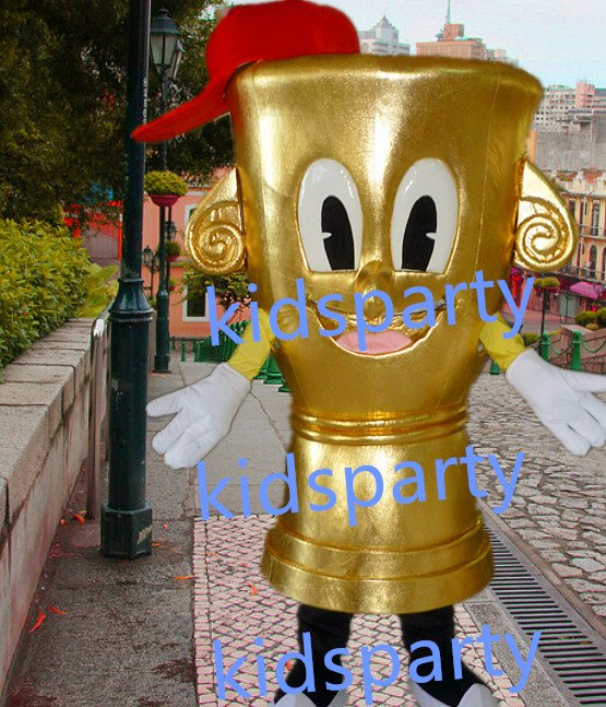 New trophy  prize cup mascot costumes  fursuit christmas Halloween costume