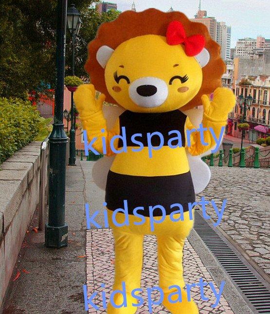 New bee bears Mascot Costume Mascot Parade Quality Clowns Birthdays Fancy dress party