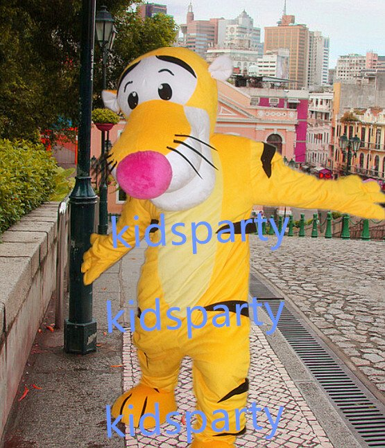 New tiger Mascot Costume Mascot Parade Quality Clowns Birthdays Fancy dress party