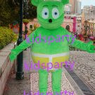 New green bear Mascot Costume Mascot Parade Quality Clowns Birthdays Fancy dress party