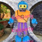 New robot Mascot Costume Mascot Parade Quality Clowns Birthdays Fancy dress party
