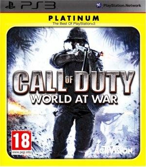 CALL OF DUTY WORLD AT WAR PS3 SONY PLAYSTATION 3