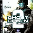 GHOST RECON ADVANCED WARFIGHTER 2 PS3 SONY PLAYSTATION 3
