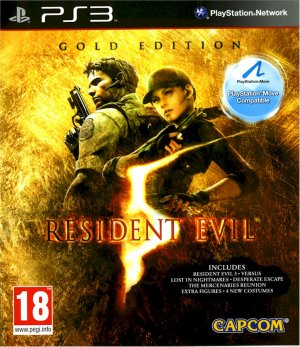 RESIDENT EVIL 5: GOLD PS3 SONY PLAYSTATION 3