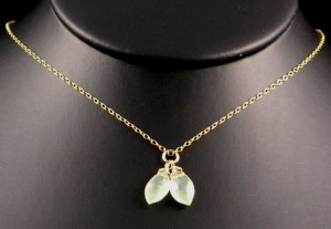 Flawless (Prehnite Gold)