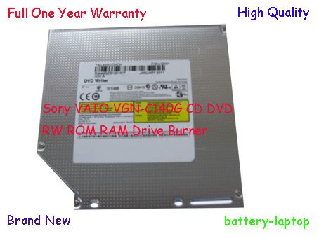 Sony VAIO VGN-C140G CD DVD RW ROM RAM Drive Burner