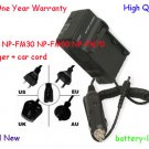 Battery Charger for Sony NP-FM30 NP-FM50 NP-FM70