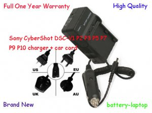 New NP-FC10 NP-FC11 Battery Charger for Sony CyberShot DSC-V1 P2 P3 P5 P7 P9 P10