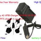 Sony AC-VF50 Charger NP-FF51 NP-FF70 NP-FF71