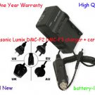 Battery Charger+Cord for CGA-S009 CGA-S009E Panasonic Lumix DMC-F2 DMC-F3 Camera