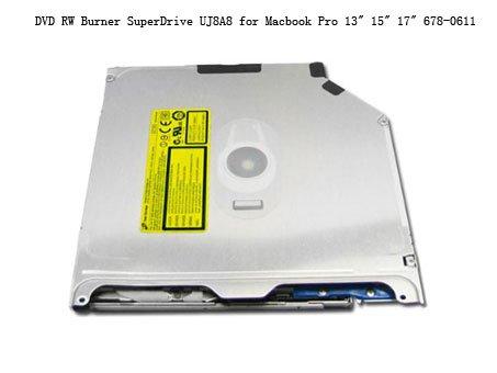 "DVD RW Burner SuperDrive UJ8A8 for Macbook Pro 13"" 15"" 17"" 678-0611"