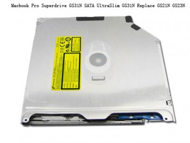 9.5mm Macbook Pro Superdrive GS31N SATA UltraSlim GS31N Replace GS21N GS23N