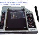 2nd HARD DISK DRIVE HDD SSD Caddy Bay for TOSHIBA Satellite L830 L850 C850