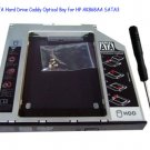 2nd SATA Hard Drive Caddy Optical Bay for HP AK868AA SATA3