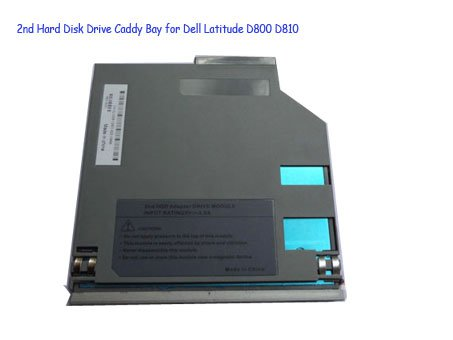 2nd Hard Disk Drive Caddy Bay for Dell Latitude D800 D810