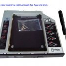 2nd Sata Hard Disk Drive Hdd Ssd Caddy for Asus G72 G72x