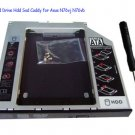 2nd Hard Drive Hdd Ssd Caddy for Asus N76vj N76vb