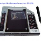 2nd Hard Drive Hdd Caddy Adapter for Acer Aspire 4750 4750g