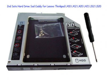 2nd Sata Hard Drive Ssd Caddy for Lenovo Thinkpad L410 L412 L420 L421 L512 L520