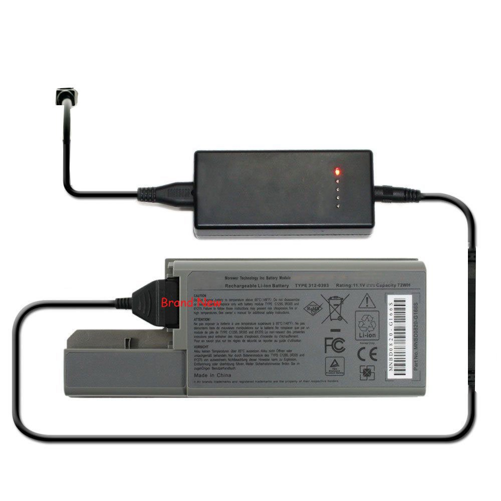 External Battery Charger for Dell Latitude D531 D531N D820 D830 Precision M4300