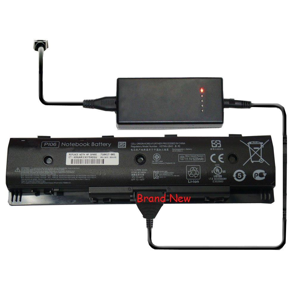 External Battery Charger for HP Pavilion 15-e051ej 15-e063eo 15t-e000 CTO 15z-e000 CTO 15-e088ee