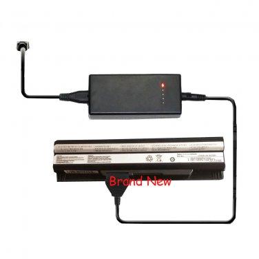 External Laptop Battery Charger for MSI E2MS110K2002 E2MS110W2002 E2MS115K2002