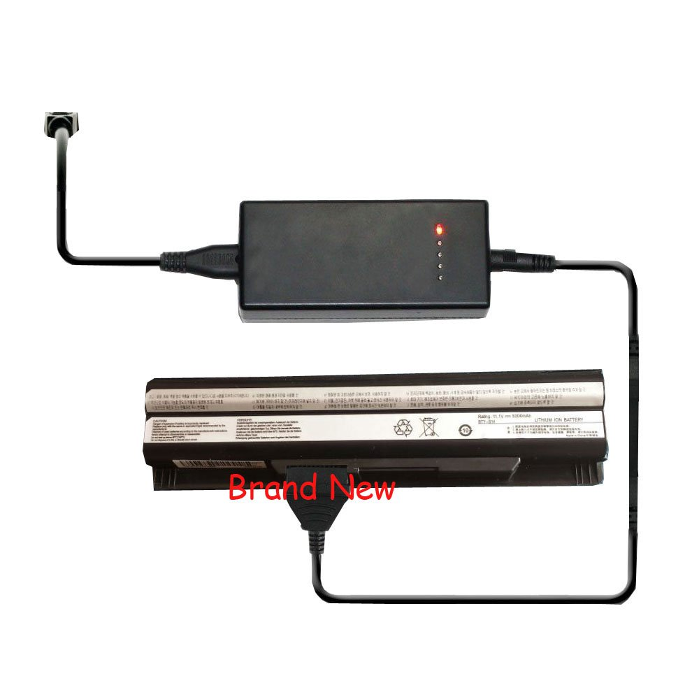 External Laptop Battery Charger for MSI FX603 FX610 FX620 FX620DX FX700 GE620 GE620DX