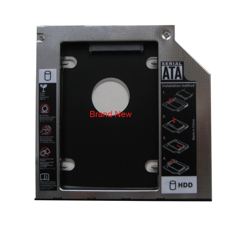 9.0mm SATA 2nd HDD SSD Hard Drive Caddy for Panasonic UJ8HC UJ8E2Q UJ8C2Q UJ8E2Q UJ272Q UJ8D2Q