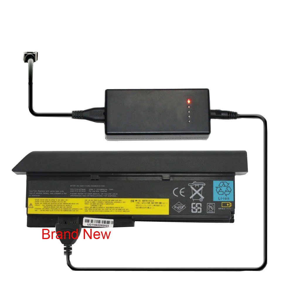 External Laptop Battery Charger for Lenovo ThinkPad Edge 11 Edge E10 X100e X120e