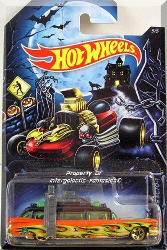 Hot Wheels - Ghostbusters Ecto-1: Happy Halloween! #5/5 (2014) *Kroger Excl.*