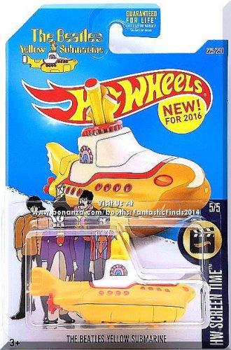 Hot Wheels - The Beatles Yellow Submarine: HW Screen Time #5/5 - #225/250 (2016)