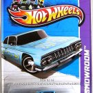Hot Wheels - '59 Chevy Impala: HW Showroom 2013 - Heat Fleet #220/250 *Blue*