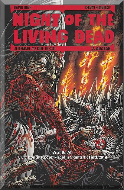 Night Of The Living Dead: Aftermath #2 (2012) *Modern Age / Avatar / Gore Cover*