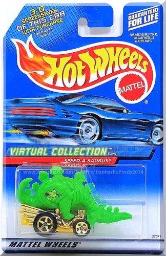 Hot Wheels - Speed-A-Saurus: Virtual Collection Cars #104 (2000) *Green Edition*