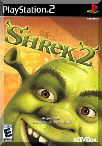 PS2 - Shrek 2 (2004) *Complete With Case And Instruction Booklet / 1-4 Players*