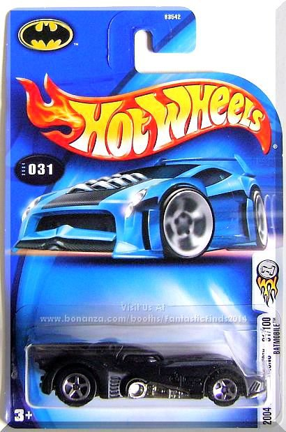 Hot Wheels - Batmobile: 2004 First Editions #31/100 - Collector #031 *Black*