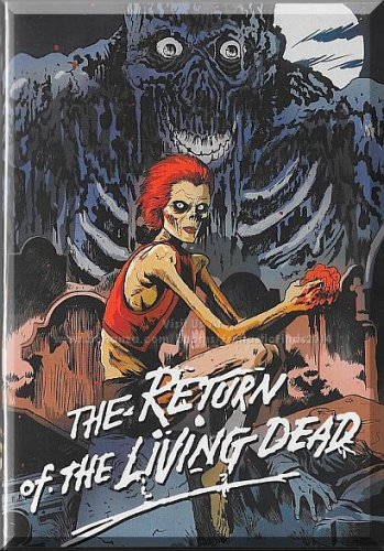 DVD - The Return Of The Living Dead (1985) *Linnea Quigley / James Karen*