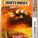 Matchbox - Volkswagen 4X4: All Terrain #4/13 - #91/100 (2008) *Orange Edition*