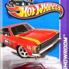 Hot Wheels - Chevrolet SS: HW Showroom 2013 HW Performance #241/250 *Red*