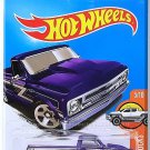 Hot Wheels - '67 Chevy C10: HW Hot Trucks #158/365 (2017) *Purple Edition*