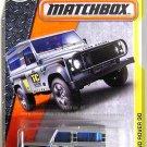 Matchbox - Land Rover 90: MBX Construction #48/120 (2017) *Silver Edition*