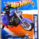 Hot Wheels - Boss Hoss Motorcycle: HW Main Street '11 #8/10 - #168/244 *Blue*