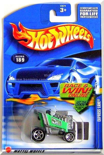 Hot Wheels - Express Lane: Collector #189 (2002) *Green Edition / Race & Win!*