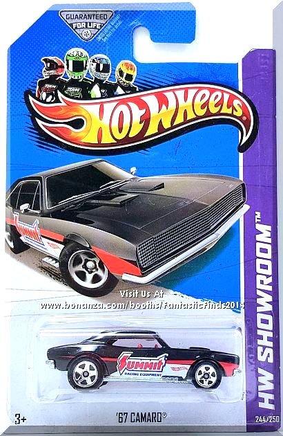 Hot Wheels - '67 Camaro: HW Showroom 2013 - HW Performance #244/250 *Black*