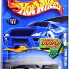 Hot Wheels - Mustang Mach 1: Collector #179 (2002) *Black  / Error Variant*